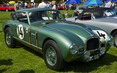 1948 Aston Martin DB1 Racer at the Hillsborough Concours D'Elegance 2005