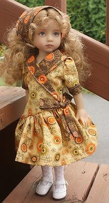 Beautiful-fall-outfit-2-for-13-Dianna-Effner-Little-Darling-dolls. Ends 8/26/14. SOLD for $29.00