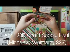 Michael's haul!!! - YouTube