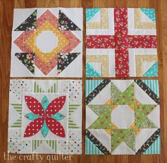 Keeping up with BOM's and QAL's - The Crafty Quilter