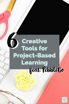 This list of favorite creative tools can help students share their learning as you tackle project-based learning together this school year. Play Based Learning, Blended Learning, Project Based Learning, Student Self Assessment, Family Day Care, Book Creator, Classroom Activities, Classroom Ideas, Math Projects