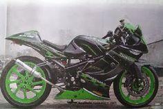 PADDOCK BIKERS  – Kawasaki Ninja 150 RR Modifikasi Full Fairing Sport Touring . Berawal dari mimpi nonton balap MotoGP di Sepang Malaysia. ...