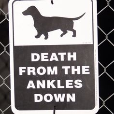 New sign for a fence ;)