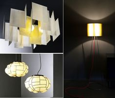 #London_design_festival #alexandra, #egg, #orly the new lamps by #enrico_franzolini for Pallucco