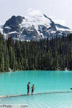 Middle Joffre Lakes Provincial Park in British Columbia Canada #TheGreatOutdoors