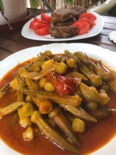Mπάμιες απίθανες και Μανιταροκεφτέδες !! !!!! ~ ΜΑΓΕΙΡΙΚΗ ΚΑΙ ΣΥΝΤΑΓΕΣ 2 Pot Roast, Ethnic Recipes, Food, Carne Asada, Roast Beef, Essen, Meals, Yemek, Eten