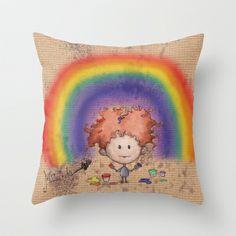 Matita's Art Throw Pillow
