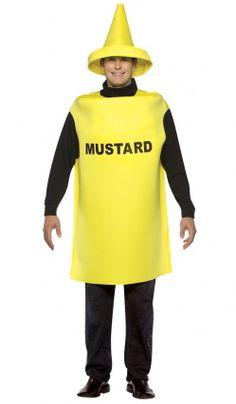 Deguisement Tube De Moutarde - Adulte