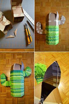 Snowdrop and Company: DIY Cactus Piñata