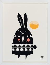 Funny Bunny. By Mariann Doherty of Going Danish.