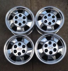 8 best mau1271 wheels images on pinterest wheels chevrolet set of four wheels rims 16 inch 00 to 03 polished chevy silverado tahoe 5096b fandeluxe Choice Image