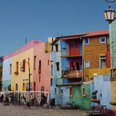 Buenos Aires, Argentina - looks like a fun place full of contrasts. How does this live side by side with the stodgy European type city? The Places Youll Go, Great Places, Places To See, Monuments, Argentina Culture, Visit Argentina, Travel Log, Holiday Places, World Of Color