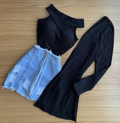 Cute Swag Outfits, Girly Outfits, Pretty Outfits, Stylish Outfits, Girls Fashion Clothes, Teen Fashion Outfits, Mode Outfits, Girl Fashion, Preteen Fashion