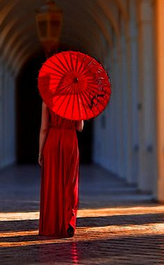 Red - Portrait - Fashion - Photography