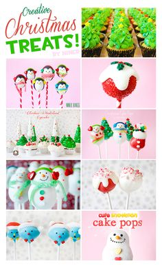 Creative Christmas Treats: Cupcakes and Cake Pops | niner bakes