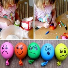 basteln mit kindern anti stressball selber machen tinker with children do anti stress ball yourself Crafts For Seniors, Diy Crafts For Kids, Easy Crafts, Anti Stress Ball, Balle Anti Stress, Kindergarten Lesson Plans, How To Make Toys, Toy Store, Diy Toys