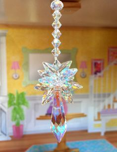 Swarovski Suncatcher Crystal Aurora Borealis Clear AB Rainbow