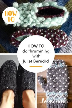 Thrumming is a technique that dates back to the Elizabethan times - adding slivers of woolly fibre to your stitches to add a layer of super shaggy warmth! Juliet Bernard has the scoop on how to thrum with her super easy tutorial! | Learn with LoveCrafts.com Knitting Patterns Free, Free Pattern, Different Stitches, Learn How To Knit, Knit Or Crochet, Shaggy, Super Easy, Dates, Wool