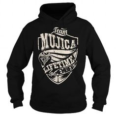 Awesome Tee Team MUJICA Lifetime Member (Dragon) - Last Name, Surname T-Shirt T shirts