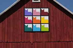 Barn Quilts of Shawano County  Nine Lives  (my favorite!)  8-11-12