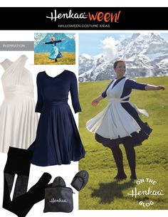 "Sound of Music Maria Costume aka the ""Look at all the"" meme ;)"