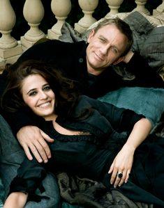 "Eva Green and Daniel Craig | ""Casino Royale"""