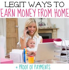 List of Ways to Earn Money from Home (List of Legit Survey Companies) + Proof You Earn Money!