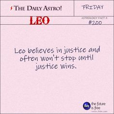 """""""The Daily Astro!"""" Leo astrology-fact for Friday January 20th"""