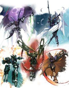 Gundam Wing Group Order