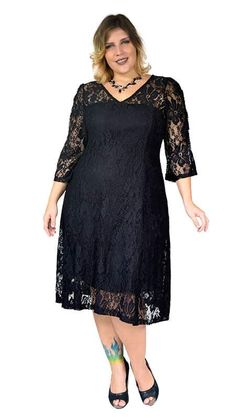 Moda Evangelica Plus Size Festa Ideas Moda Festa Plus Size, Moda Plus Size, Evening Dresses Plus Size, Plus Size Dresses, Plus Size Outfits, Fashion Over Fifty, Over 50 Womens Fashion, African Attire, African Dress