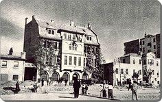 Taksim düzenlemeleri sırasında yıkılıp yerine AKM binası yapılan Bağdat Demir yolları genel müdürü Alman Edouard Huguenin kışlık evi (Eski Elektrik idare binası)- 1941