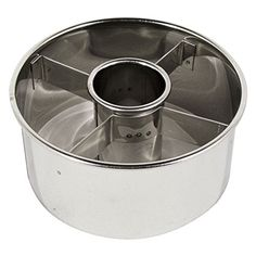 """Ateco 14423 3.5"""" Stainless Steel Doughnut Cutter"""