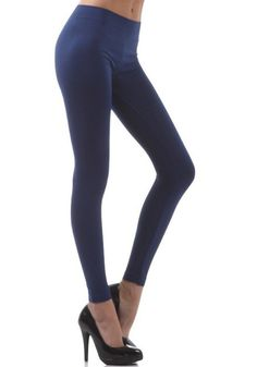 1e73b4aaec88f Fleece Lined Footless Legging Seamless Stretchy Winter Tight One Size,  Black at Amazon Women's Clothing store: Leggings Pants