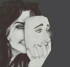 Ik weet al dat je gevoelens kan verbergen met een masker