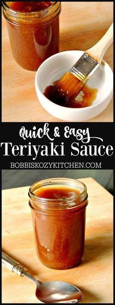 Terriaki Chicken, Terriyaki Sauce, Grilled Teriyaki Chicken, Friend Recipe, Sauce Recipes, Yummy Recipes, Keto Recipes, Chicken Recipes