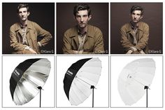 Profoto introduce twelve new high-quality umbrellas in all shapes and sizes, including a deeper, more parabolic version.