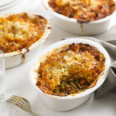 Switch up the classic shepherd's pie for our mini shepherd's pies with sweet potato mash