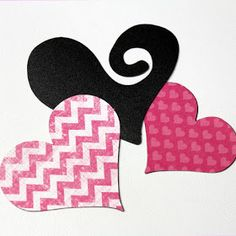 Craft-e-Corner Blog * Celebrate Your Creativity: Valentines Day Die Cut Silhouette Magnet Paper Project Tutorial!