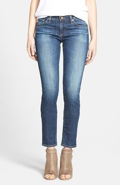 AG 'The Stilt' Cigarette Leg Stretch Jeans (Eleven Year Intrigue) (Nordstrom Exclusive) available at #Nordstrom