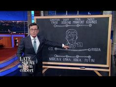 Stephen Colbert Explains Donald Trump Jr.-Russia Collusion Claims In 1 Handy Diagram | HuffPost