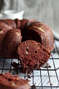 Chocolate Budt Cake.  This is one of my favorite vegan chocolate bundt cake recipes.  Absolutely love it!  The coffee brings out the flavor of the chocolate.
