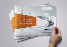 Corporate Brochure Design Inspiration 1