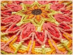 7 crochet mandala patterns - beautiful work
