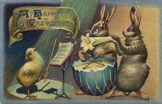 vintage easter images   Wishing you a wonderful Easter!