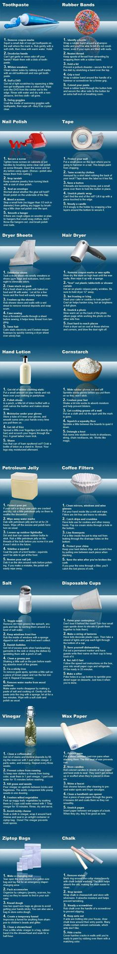 Best Uses for Everyday Items