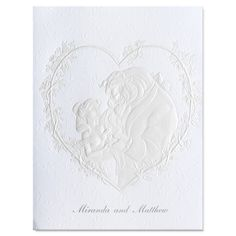 Beauty and the Beast Wedding Invitations: Yes, lets insult the bridegrooms family right from the get go - Your son is a BEAST- a furry, angry, person, who I lacking in table manners in desperate need of a haircut!
