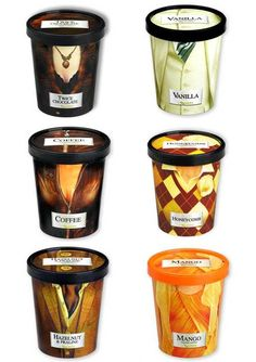 Rocombe Ice Cream. Let's get dressed to eat some #icecream #packaging PD