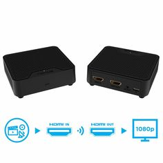 Nyrius Orion Home Wireless Hdmi Video Transmitter & Receiver for Streaming HD Video & Digital Audio from A/V Receiver, Cable/Satellite Box, Blu-ray, PC to TV/Projector Dolby Digital, Digital Audio, Hdmi Splitter, Av Receiver, Data Transmission, Cable Box, Digital Trends, Hdmi Cables, Hd 1080p