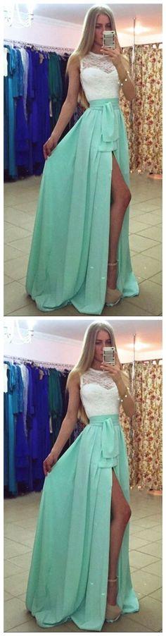 Evening Dresses , Mint Green Evening Dresses, Chiffon Evening Dresses, Evening Dresses,Evening Gowns,Zipper Evening Dress, Red Carpet Dresses ,Long Prom Dresses, Formal Gowns,Party Dresses M2550