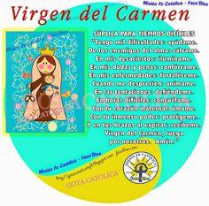 GOTA CATÓLICA: Virgen del Carmen